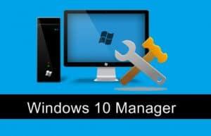 系统优化:Windows 10 Manager v3.3.0 绿色便携版