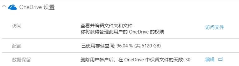 微软OneDrive网盘免费升级到25T容量