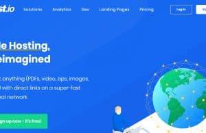 Fast.io免费静态空间/目录浏览,支持OneDrive/Google Drive/Github等